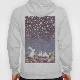 bunnies under the stars Hoody