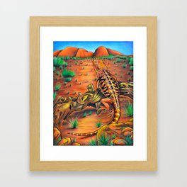 'Wanderlust' 11''x14'' Color Pencils and Acrylic on Bristol Board 2013 Dan Gribben Framed Art Print