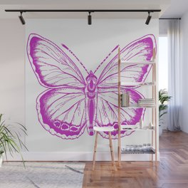 Butterfly - Violet - Beautiful - purple Wall Mural