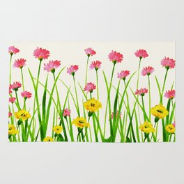 Wildflowers III Rug