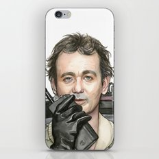 Bill Murray as Peter Venkman from Ghostbusters iPhone & iPod Skin