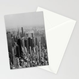 New York City Black and White Stationery Cards