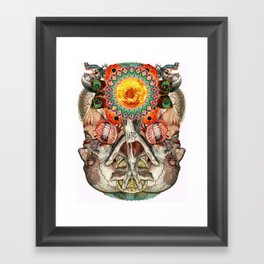 Losing the Human Form (Part 2) Framed Art Print