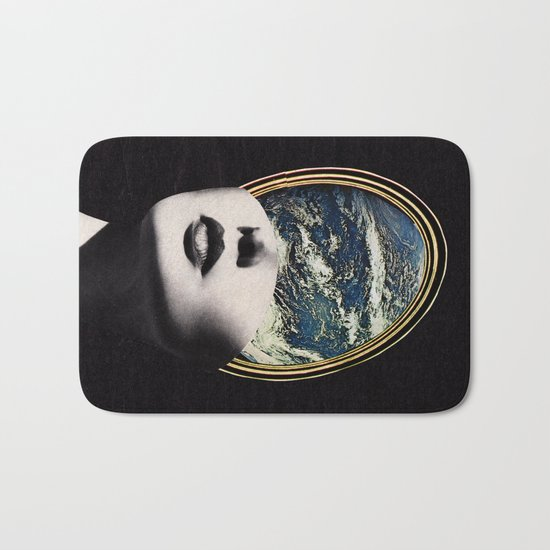 World in your mind Bath Mat