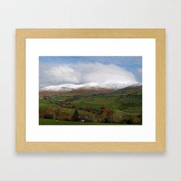 Howgill Fells in Winter Framed Art Print