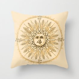 Orange Sherbert Supreme Throw Pillow