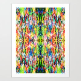 The Peace Kaleidoscope Art Print