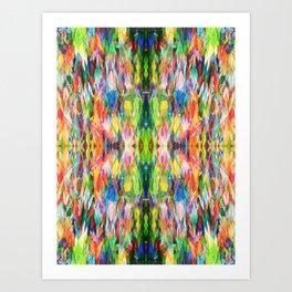 The Peace Kaleidoscope Art Print