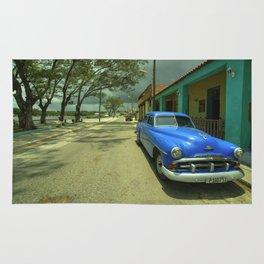 Vintage Plymouth at Cojimar Rug