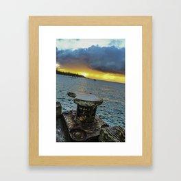Bay of Port Phillip Framed Art Print