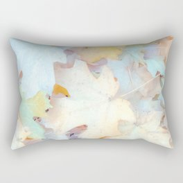 """Autumn Leaves Pastel"" by Murray Bolesta Rectangular Pillow"