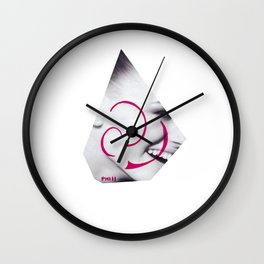 Hapiness Wall Clock