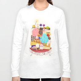Plate of Sweets Long Sleeve T-shirt