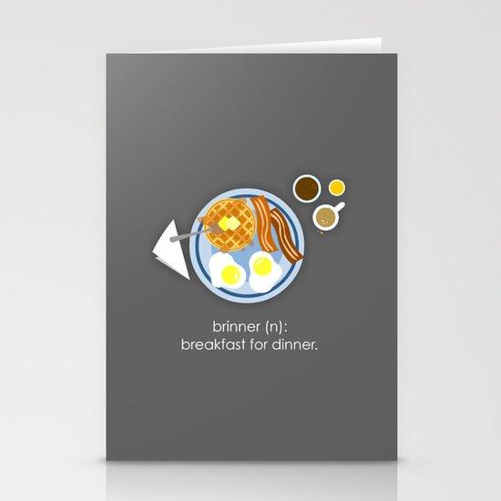 Brinner Stationery Cards