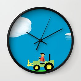 Care for our planet Wall Clock