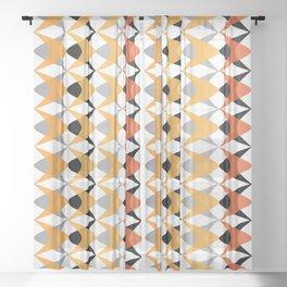 Vintage BW 03 Sheer Curtain
