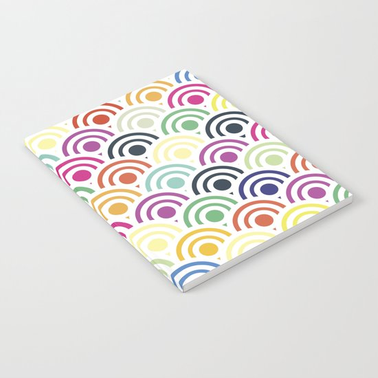 Colorful Circles II Notebook