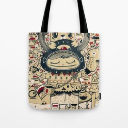 the keeper of the forest Tote Bag