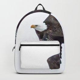 Eagle soaring Backpack