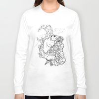 rat Long Sleeve T-shirts featuring Rat by Ruff Worlock