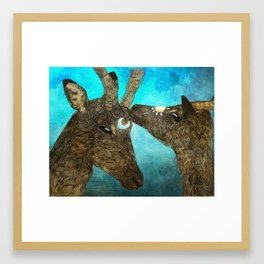 Celestial Impala Framed Art Print
