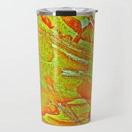 Bloody-Nature Abstract Travel Mug