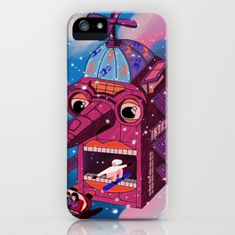 Moving house iPhone Case