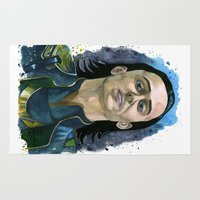 loki Area & Throw Rugs featuring Loki by OnaVonVerdoux
