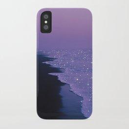 Purple magic iPhone Case