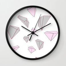Diamond 2 Wall Clock