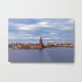 The City Hall, Stockholm Metal Print