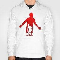 arsenal Hoodies featuring Mesut Ozil by Sport_Designs