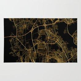 Beirut map, Lebanon Rug