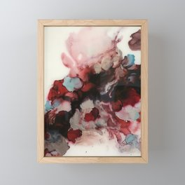 rosy and right as rain Framed Mini Art Print