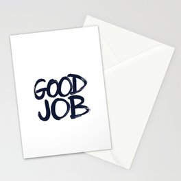 Good Job Stationery Cards