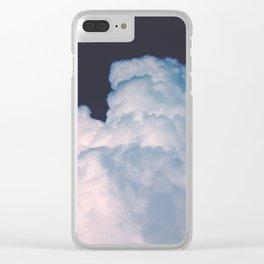 Puff Puff Clear iPhone Case