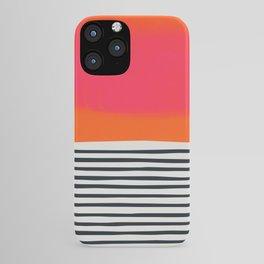 Sunset Ripples iPhone Case