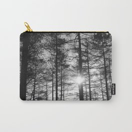 Winter Pine Forest 1 Carry-All Pouch