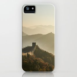 The Mountains of the Great Wall iPhone Case