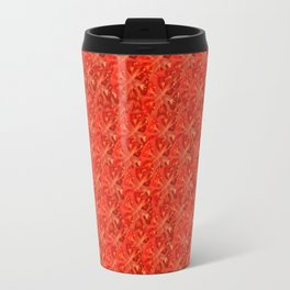 Tomato Pattern Travel Mug