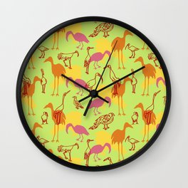 Feathered Flocks - Gaggle Wall Clock