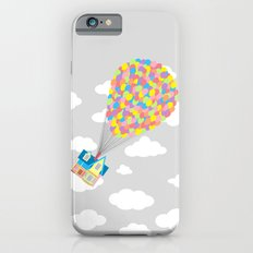 Up! in the Gray Clouds iPhone 6s Slim Case