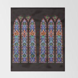 Mary's Mountain Windows Throw Blanket