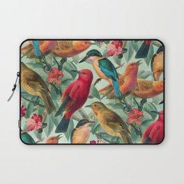 Birds in a summer garden Laptop Sleeve