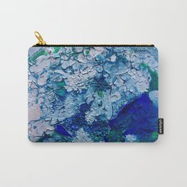 Imagined Ocean View From Above Carry-All Pouch