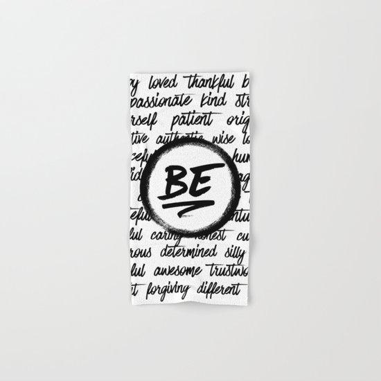 Be... Hand & Bath Towel