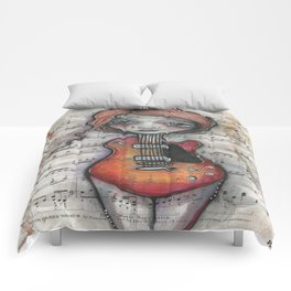 """""""Minuet""""  Comforters"""