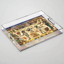 Ancient Aliens Acrylic Tray