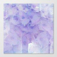 hydrangea Canvas Prints featuring hydrangea by clemm