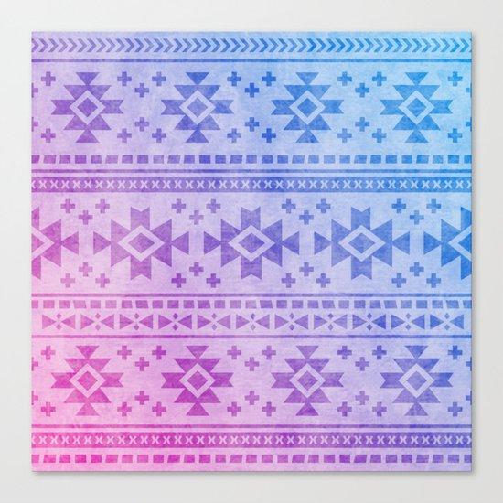 Aztec Pattern 04 Canvas Print